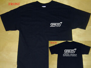 2S STI subaru tecnica international car tshirt Funny t shirt tees car t-shirt