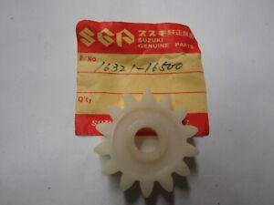 1971-77 SUZUKI TM400 TS400 TS TM 400 OIL PUMP DRIVE GEAR NOS OEM P/N 16321-16500
