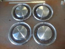 """1970 70 Chrysler Newport Hubcap Rim Wheel Cover Hub Cap 15"""" OEM USED 349 SET 4"""