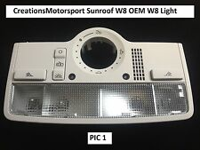 VW Golf Bora Passat Leon Skoda W8 Interior Light Sunroof version Lighting - P1