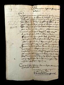 1621 AUTOGRAPHED PAPER DOCUMENT