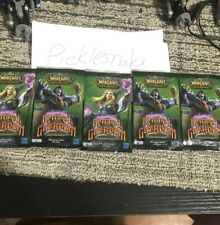 World Of Warcraft Tcg Betrayal Of The Guardian 5 Pack Lot! Ghostly Charger Loot?