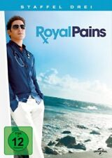 COSTANZO,SHETTY,FEUERSTEIN - ROYAL PAINS - 3.STAFFEL - 4 DVD NEU