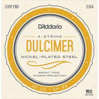 3 Sets D'Addario EJ64 4-String Dulcimer Strings