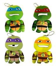 Teenage Mutant Ninja Turtles Talking Bag Clip All 4 inc Leonardo & Donatello