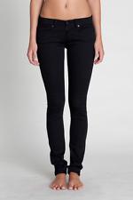 Ksubi Super Skinny Zip Black Night Jeans Designer Size 27