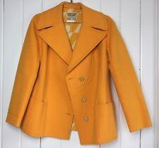 Hermes Wool Coat Yellow