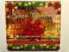 GRAN CONCERTO DI NATALE- SCANDINAVIAN PHILHARMONIC ORCHESTRA- CD NUOVO SIGILLATO