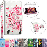 For Nokia 7.1 6.1 5.1 3.1 2.1 3D Painted Leather Flip Stand Card Wallet Cover