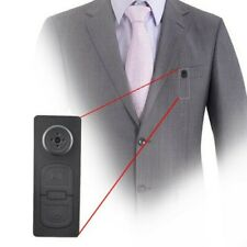 16GB Spy Hidden Camera Motion Detection Shirt Button Pinhole Nanny Baby Cam