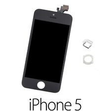 IPHONE 5 LCD SCHERMO DISPLAY RETINA TOUCH SCREEN VETRO FRAME NERO BLACK