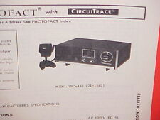1978 Realistic Cb Radio Service Shop Manual Model Trc-440 (21-1540)
