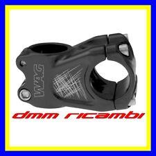 Attacco Manubrio bici MTB Enduro WAG 50mm Nero