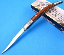 "Rite Edge 8"" Spanish Toothpick Rich Grain Wood Handle Folding Pocket Fruit Knife"