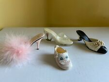 Just The Right Shoe by Raine Shoe Miniatures - Lot of 4