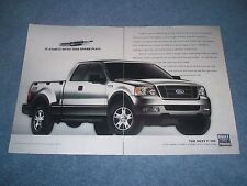 "2004 Ford F-150 3pg Pickup Truck Ad ""How Does the 3-Valve Triton V8 Engine...."""