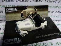 OPE21 voiture 1/43 IXO eagle moss OPEL collection : Geländesportwagen 1934/1938
