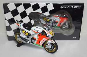 Model Moto Scale 1:12 MINICHAMPS Honda RC212V Bradl 2012 Modeling Static