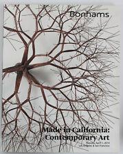Bonhams Auction Catalog: Made in California, Contemporary Art - April 2014