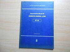 Werkstatthandbuch  Reparaturhandbuch Horch Diesel LKW H3A