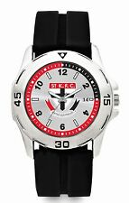 AFL St Kilda Saints Rubber Band Gents Watch FREE SHIPPING