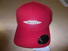 c44650ba9db Mini Cooper John Cooper Works JCW Logo Baseball Cap Snapback Red OEM