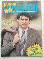 HURRA' JUVENTUS N. 4 APRILE 1985 COPPA DEI CAMPIONI MICHEL PLATINI SPARTA PRAGA