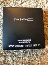 Mac Bronzing Powder Bronze 0.35oz New Boxed