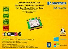 Azurewave AW-CB161H Minipci-E 802.11AC Bluetooth RTL8821AE 433Mbps 5ghz 2.4ghz