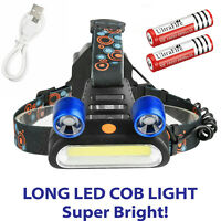 250000 LM 5X T6 LED Headlamp Rechargeable Head Light Flashlight Torch Lamp USA