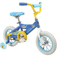 Dynacraft Children's 12 Inch Beginner Kids Bike with Training Wheels, Baby Shark