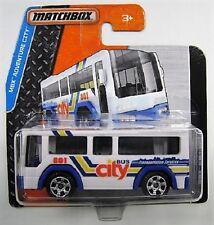 City Bus c.b.t. 801 MATCHBOX 22/125 échelle 1:64 Neuf dans sa boîte NEUF