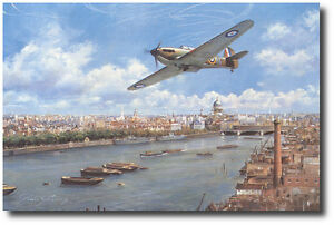 Weekend Warrior by John Young - Hawker Hurricane - Aviation Art Prints