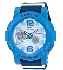 Casio Baby-G * BGA180-2B3 Anadigi GLide Shades of Blue Women COD PayPal