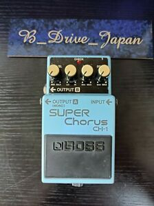 Boss CH-1 Super Chorus Guitar Effect Pedal Pink Label Shipped from JAPAN