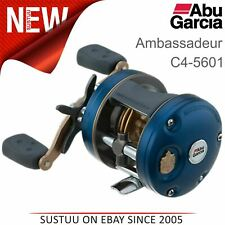 Abu Garcia Ambassadeur C4 5601 Round Fishing Multiplier Reel│Ratio 6.3:1│1292715