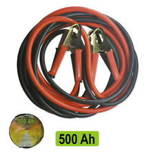 Heavy Duty Jump Leads 3 Metre Starter Jumper Booster Battery Cable Car Van 500Ah