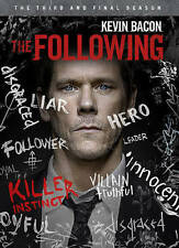 The Following The Complete Third Season Three 3 (DVD 2015 4-Disc) Kevin Bacon