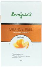Banjaras Herbal Face Care Orange Peel Powder Natural Cleanser & Astringent 100g