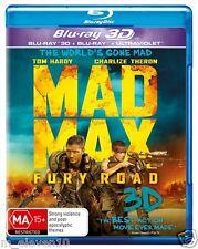Mad Max FURY ROAD : Blu-Ray 3D : NEW