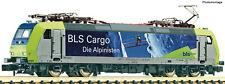 """Fleischmann N 738512 - Elektrolokomotive Re 485, BLS Cargo ,Alpinisten"""" NEUHEIT"""
