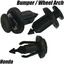 10x CLIPS FOR HONDA Accord Civic CRV Jazz BUMPER WHEEL ARCH LINING SPLASHGUARD