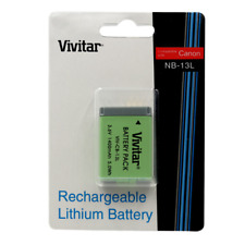 Vivitar Replacement Battery NB 13L for Canon PowerShot SX720 HS Digital Camera