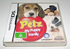 Petz My Puppy Family Nintendo DS 2DS 3DS Game *Complete*