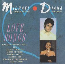 MICHAEL JACKSON / DIANA ROSS - LOVE SONGS - RARE TELSTAR CD