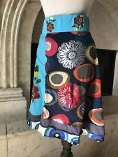 Desigual  Embroidered Flare  Skirt ( M )
