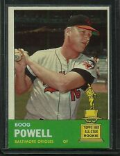 1963 Topps #398 Boog Powell AS Rookie NM-MT ORIOLES HIGH END COMPLETE SET BREAK
