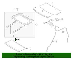 ( 1 )GENUINE LAND ROVER EYP500070  BOLT - Front Sunroof Frame 2005-2016 LR3, LR4