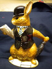 Royal Doulton Bunnykins London city gent teapot free dom shipping 120598