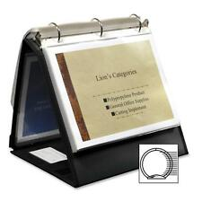 """Lion Office Products Ring Binder Easel 1-1/2"""" Cap Horizontal 11""""x8-1/2"""" Black"""